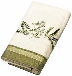 Avanti Linens Greenwood Hand Towel, Ivory