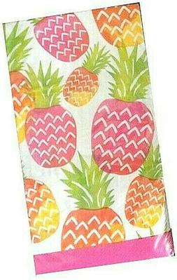 Guest Hand Towels Napkins Party Paper Beach House Pineapples