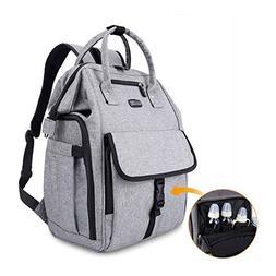 GYSSIEN Diaper Bag Multi-function Waterproof Travel Backpack