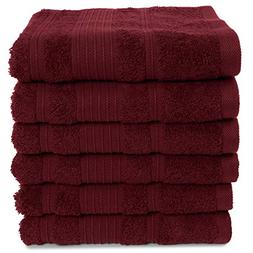 6 Pack Hand Towels Set Premium Quality | Thirsty Absorbent S