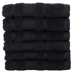 All Design Towels 6 Pack Hand Towels Set Premium Quality   T