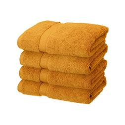 4-Piece Hand Towel Set, Premium Long-Staple Cotton, 900 GSM,