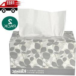 Kleenex Hand Towels, POP-UP Box Cloth 9 x 10 1/2 120/Box 2Pk