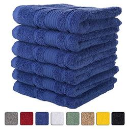 6-Piece Hand Towels SET Affordable Premium Quality 100% Turk