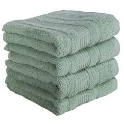 4 PACK Hand Towels Set | Premium Quality Luxury Turkish Cott