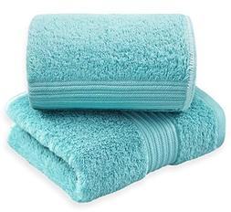 Cleanbear Hand Towels Thirsty Absorbent, Soft & Plush - 100%