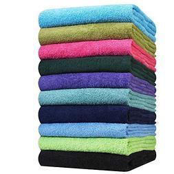 hand towels black