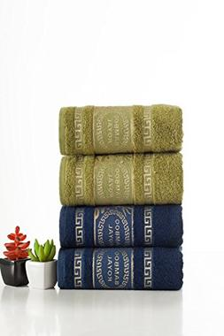 ixirhome Harmony of Contrasts Luxury Bamboo Hand Towels    S