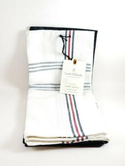 Hearth & Hand With Magnolia Kitchen Towels Plaid And Berry S