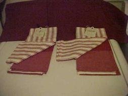 Hearth & Hand With Magnolia Red/White Gingham Striped Plaid