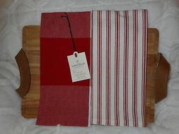 HEARTH & HAND WITH MAGNOLIA RED & WHITE GINGHAM KITCHEN TOWE