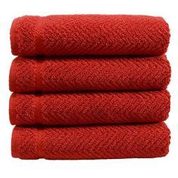 Authentic Hotel and Spa Herringbone Weave Turkish Cotton Han