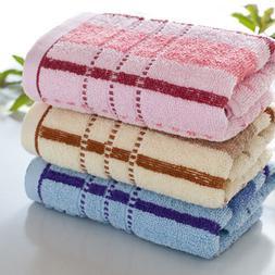 HK- Cotton Egyptian Towels Set Bale Bath Sheet Hand Large Lu