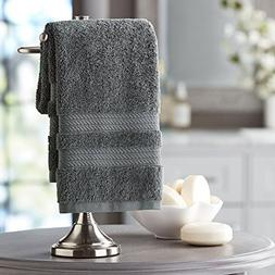 Hotel Premier Collection 100% Cotton Luxury Hand Towel, Dark