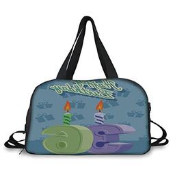 iPrint Travel handbag,36th Birthday Decorations,Birthday Par
