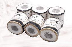 Krishna Handmade INDIAN Premium Quality TISSUE ROLLS - 6 Nos