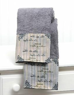 Inspirational Farmhouse Hand Towels with Sentiments, Distres