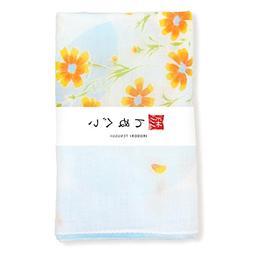 KOMESICHI Irodori Tenugui Japanese White Gauze Hand Towel Ro