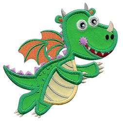 PatchMommy Iron On Patch, Dragon - Appliques For Kids Childr