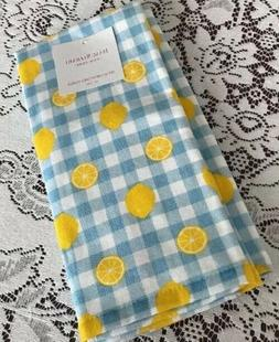 Isaac Mizrahi New York Kitchen Hand Towels Set Of 2 LEMONS/G