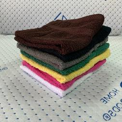 IZO's Towels Cotton Washcloths Hand Wash Towels