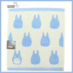 Studio Ghibli  Medium Totoro silhouette light blue  jacquard