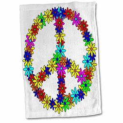 3dRose Janna Salak Designs Prints and Patterns - Peace Sign