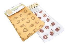 "Japanese Cotton Hand Towel ""TENUGUI"" Set of 2"