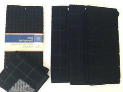 Kitchen Dish Hand 3 Towels 2 Dishcloths Drying Mat Set of 6