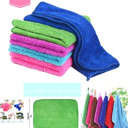 Zelta Kitchen Hand Towel Dish Cleaning Cloth with Hanging Lo