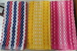 "KITCHEN/HAND TOWELS- ASSORTED COLORS--16"" X 26"""