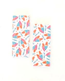 Kitchen Hand Towels Ice Cream Cone Life is Sweet Print Set o