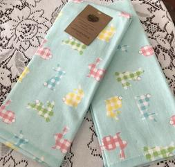 Well Dressed Home Kitchen Hand Towels Set Of 2  GINGHAM EAST