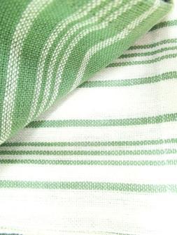 "Kitchen Towels 5 Pack dish hand 18x30"" Kitchen Chef Striped"