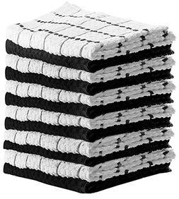 HomeLabels Kitchen Towels  100% Premium Cotton - Machine Was
