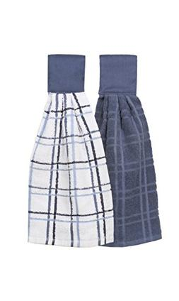 Ritz Kitchen Wears 100% Cotton Checked & Solid Hanging Tie T