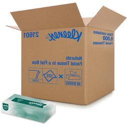 Kleenex 21601 Naturals Facial Tissue, 2-Ply, White, 125 per