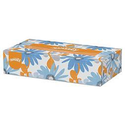 Kleenex 21400 White Facial Tissue, 2-Ply, Pop-Up Box, 100 pe