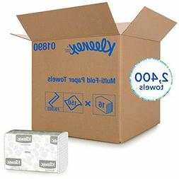 Kleenex Multifold Hand Paper Towels Premium White, Case of 1