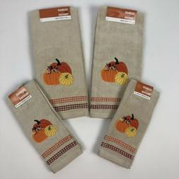 Kohl's Celebrate Fall Together Bath Hand Towels /Bath Fing