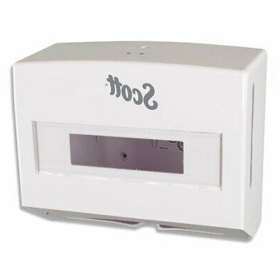 09214 scottfold compact towel dispenser