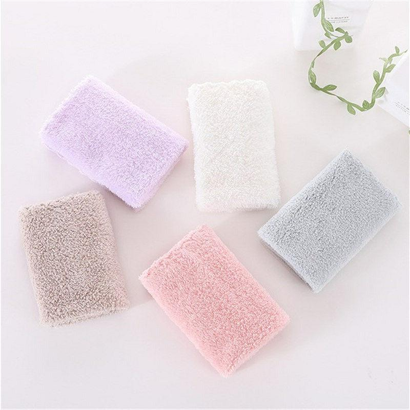 10 pack coral fleece washcloth hand towels