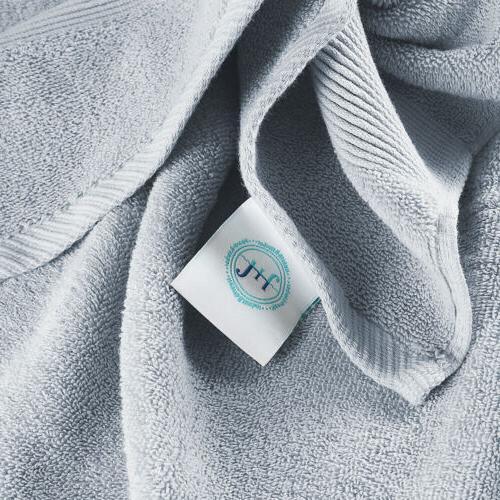 10 Piece Set Ultra Soft 100% Towels Bath & Washcloths Set