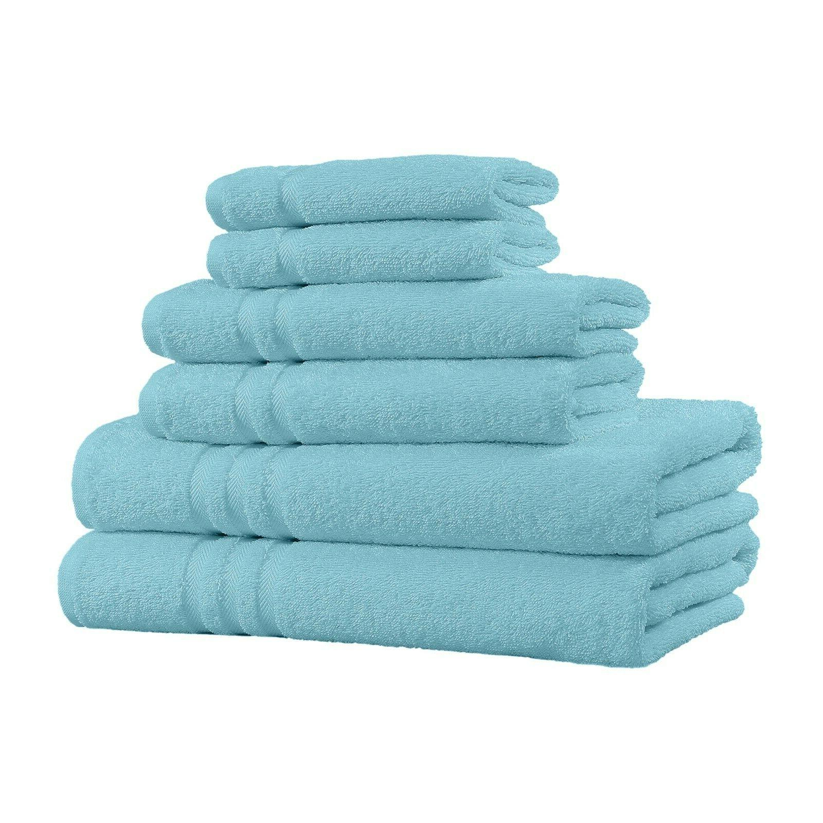 100% Cotton Set - Towels, and 2 Washcloths