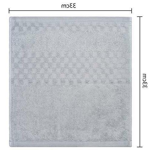 """Home Hand Towels Soft 13""""x13"""" Pack"""