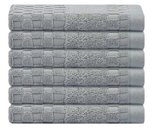 100 percent cotton hand bath towels set