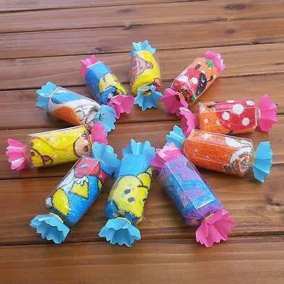 10pcs Cute Candy Baby Washcloth Wedding Favor