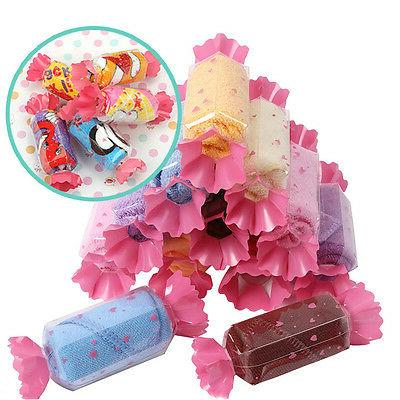 10pcs cute candy baby washcloth creative hand