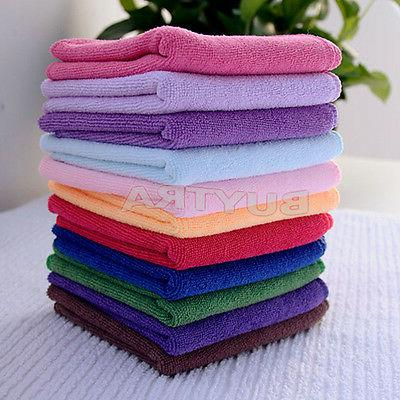 10xMulti-Color Face Soft Towel Cleaning Wash