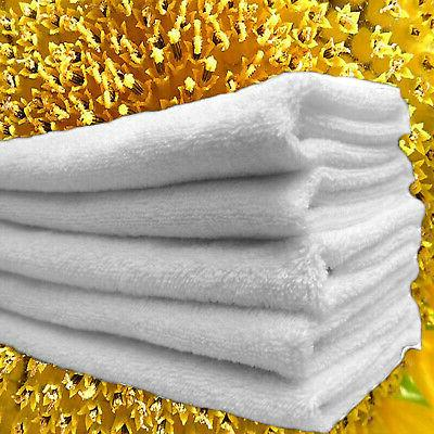 12 hand towels 16 x 27 white